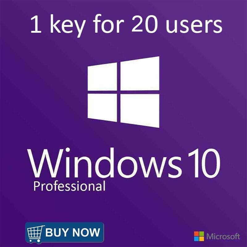 1 KEY FOR 20 USERS PRO
