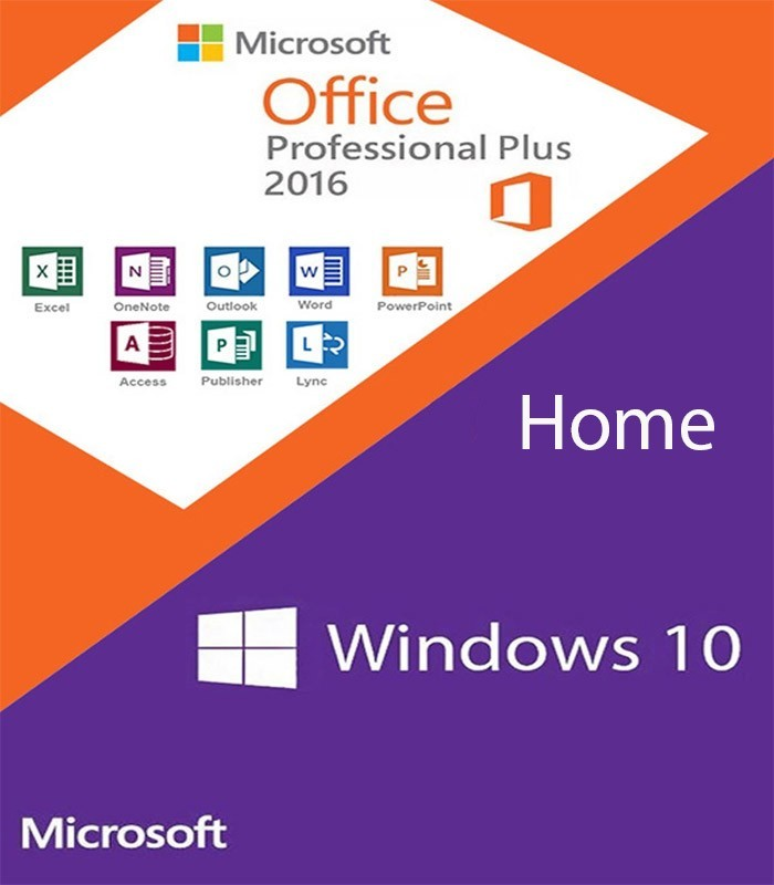 WINDOWS 10 HOME+OFFICE 2016